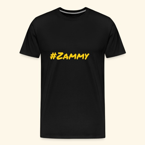 Gold #Zammy - Men's Premium T-Shirt