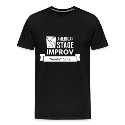 American Stage Improv Logo - Men's Premium T-Shirt
