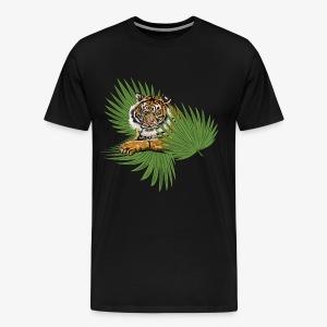 Relaxed Tiger - Men's Premium T-Shirt