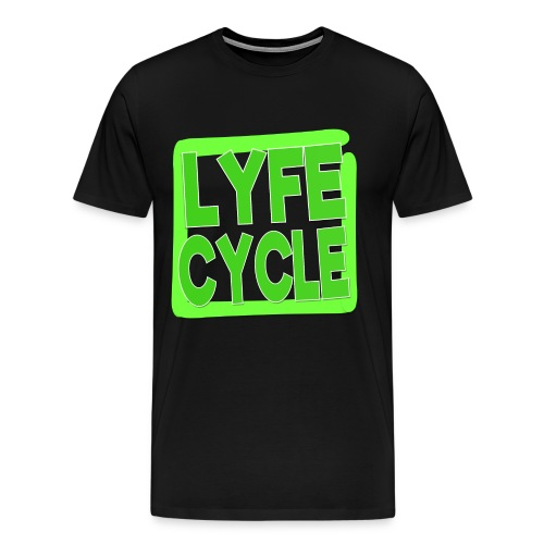 LYFECYCLE SQUARE - Men's Premium T-Shirt