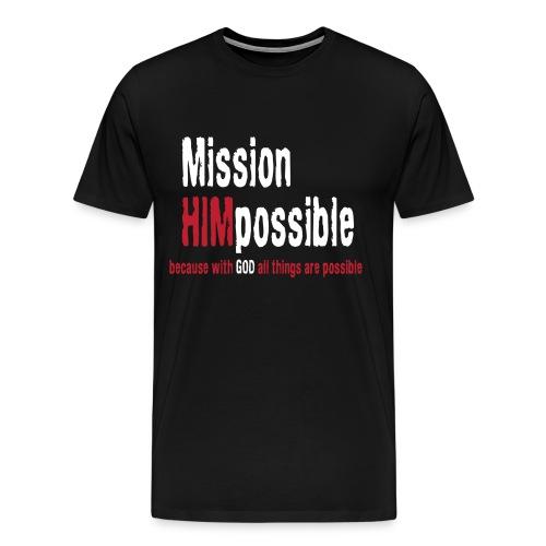 BetterMissionLogoHIGHnew - Men's Premium T-Shirt