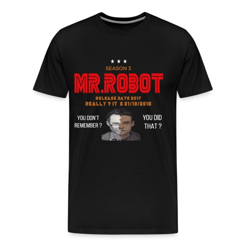 Mr ROBOT - Men's Premium T-Shirt