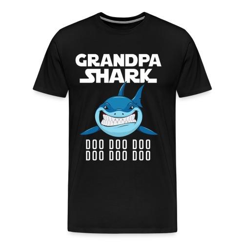Grandpa Shark T-shirt - Men's Premium T-Shirt