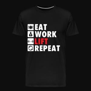 Gym Rat Life Style - Men's Premium T-Shirt