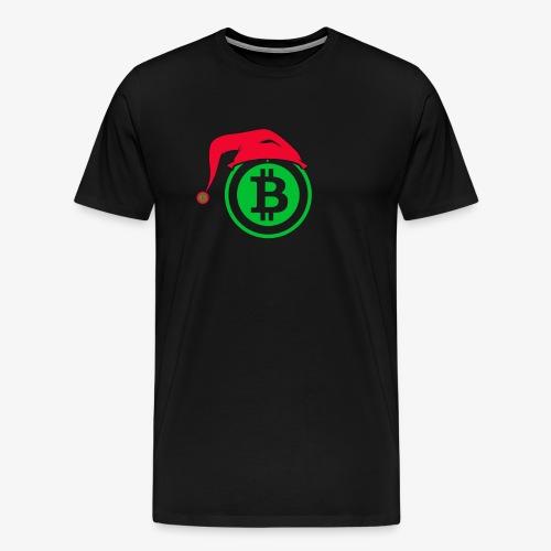 Bitcoin Santa Tshirt - Men's Premium T-Shirt