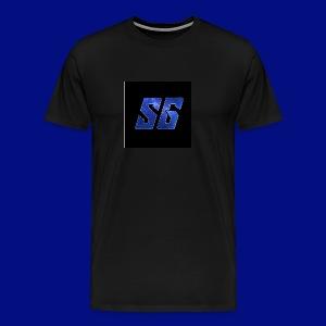 Sideways Gamer Logo - Men's Premium T-Shirt