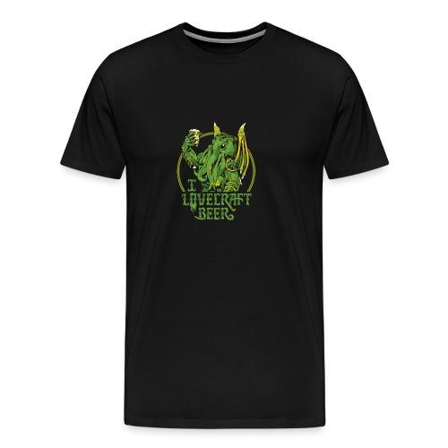 I LOVECRAFT BEER - Men's Premium T-Shirt