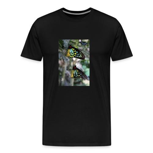Blue and Yellow Pair - Men's Premium T-Shirt