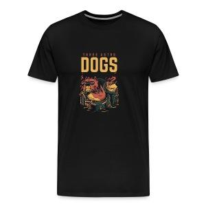 Three Astro Dogs - Men's Premium T-Shirt