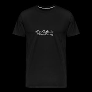 Millenial Tee - Men's Premium T-Shirt