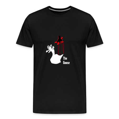 The Goose - Men's Premium T-Shirt