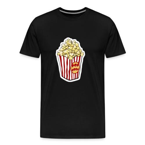 Popcorn Cartoon Pop Corn - Men's Premium T-Shirt