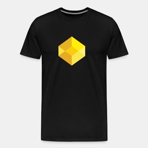 Classic Visual Cube - Men's Premium T-Shirt