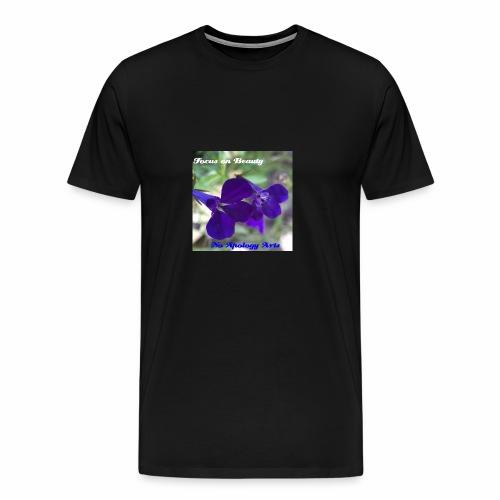 Blue Flower - Men's Premium T-Shirt