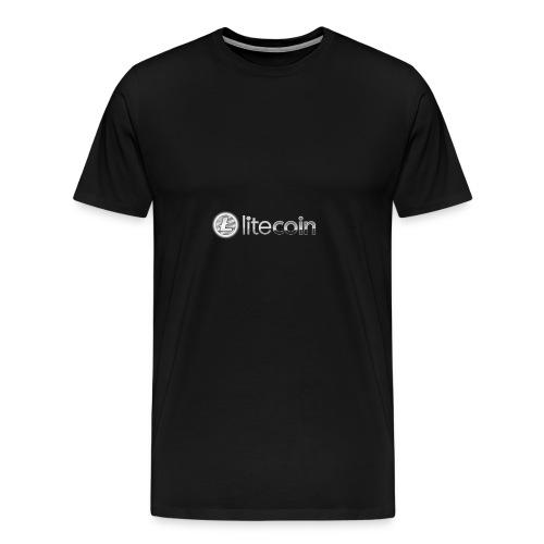 Litecoin - Men's Premium T-Shirt