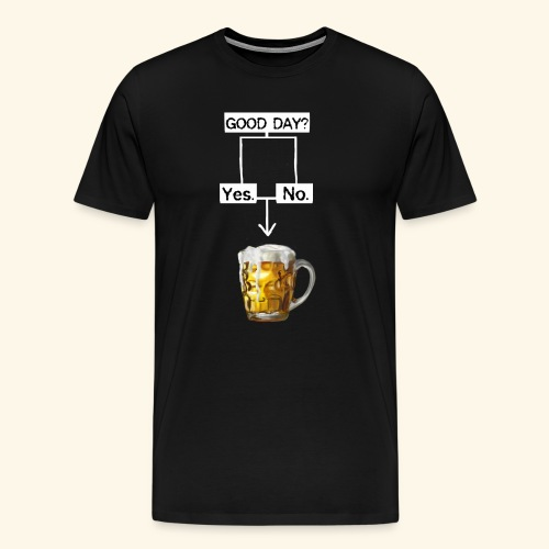 Problem Solving With Beer - Men's Premium T-Shirt
