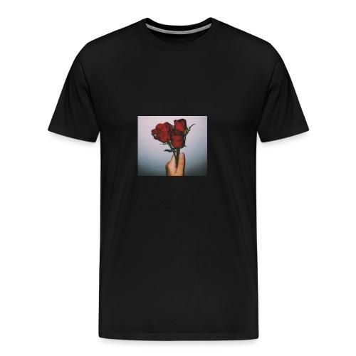 Dead Roses Hoddie - Men's Premium T-Shirt