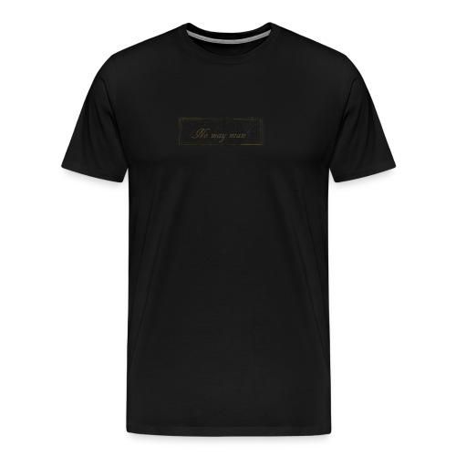 no way man - Men's Premium T-Shirt