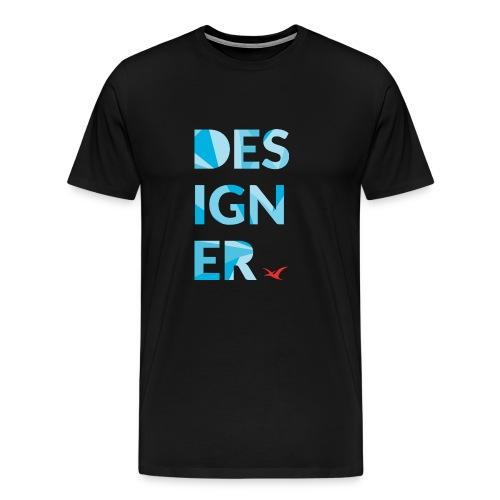 Designer Tee - Men's Premium T-Shirt