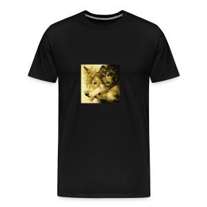 Wolfgirl - Men's Premium T-Shirt