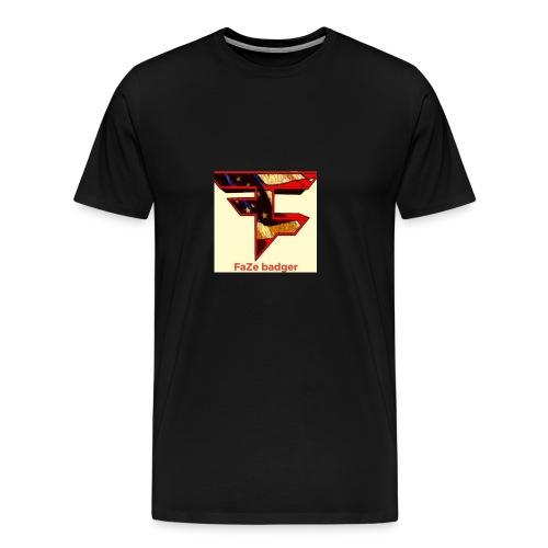 FaZe badger merch - Men's Premium T-Shirt