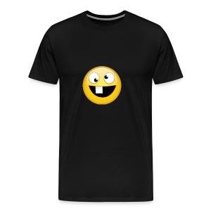 goofy face - Men's Premium T-Shirt