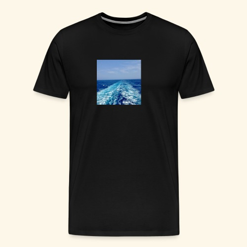 Leaving the past behind! - Men's Premium T-Shirt