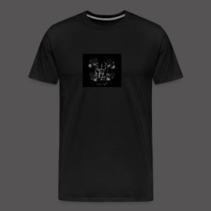 Black and Grey Loyal Team Pit - Men's Premium T-Shirt