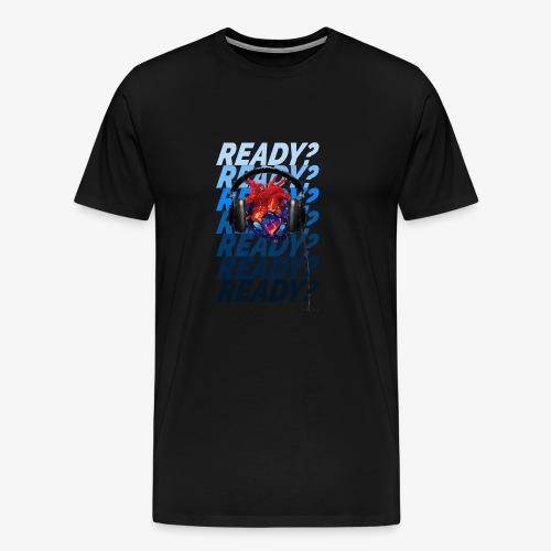 READY Heart - Men's Premium T-Shirt