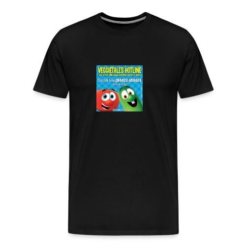 Veggietales Hotline Design - Men's Premium T-Shirt