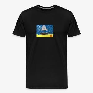 Riding the Wave - Men's Premium T-Shirt