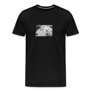 texas hurricane harvey 022 - Men's Premium T-Shirt