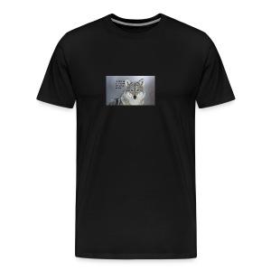 wolf merch - Men's Premium T-Shirt
