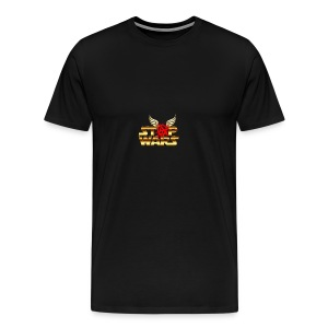 Stop Wars. Wing's and Anarchy - Men's Premium T-Shirt