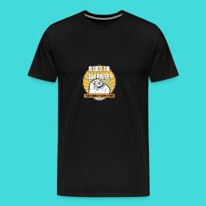 lanparty_singleplayer_meme - Men's Premium T-Shirt