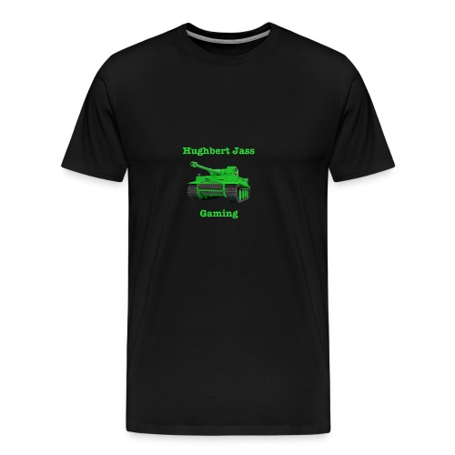 HughbertJassGamingTiger - Men's Premium T-Shirt