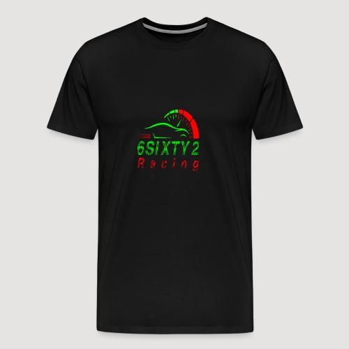 6sixty2 Racing3 MAIN PNG - Men's Premium T-Shirt