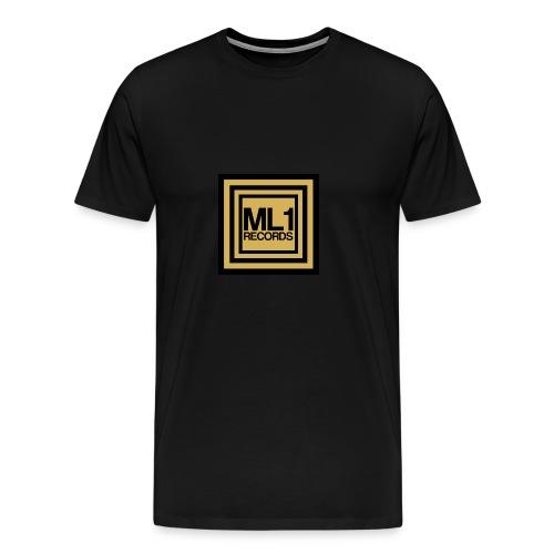 ML1 Records Logo - Men's Premium T-Shirt