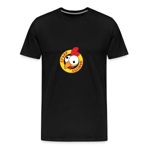 CrazyChicken Hoodie - Men's Premium T-Shirt