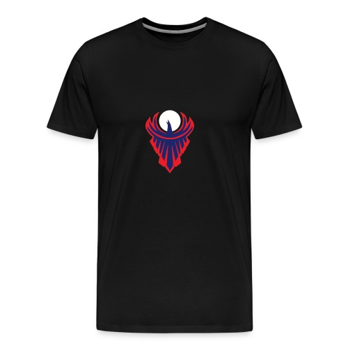 the moon bird - Men's Premium T-Shirt