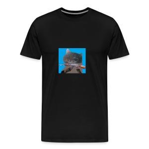 cat - T-shirt premium pour hommes