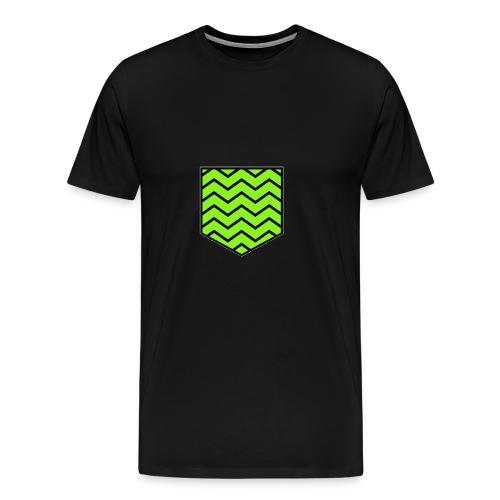 Geen stripe pocket - Men's Premium T-Shirt