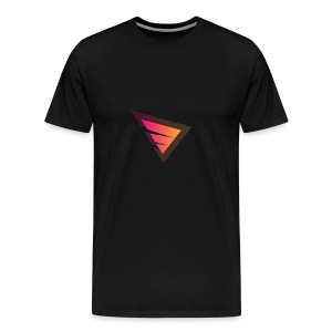 Logo IteX with another background logo - Men's Premium T-Shirt