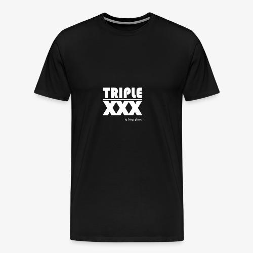 XXX WHITE - Men's Premium T-Shirt
