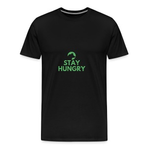 Stay hungry Project Wolfpack - Men's Premium T-Shirt