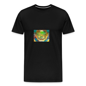 fractal art - Men's Premium T-Shirt