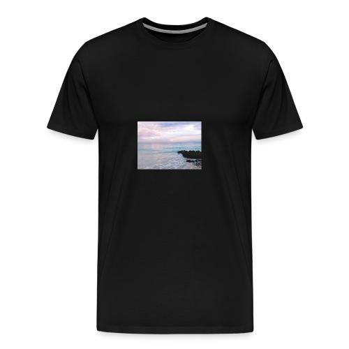 Pastel Beach - Men's Premium T-Shirt