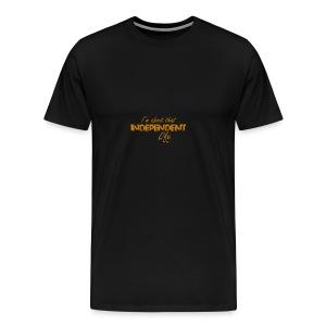 The Independent Life Gear - Men's Premium T-Shirt