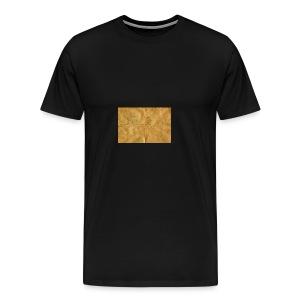 golden block rock - Men's Premium T-Shirt