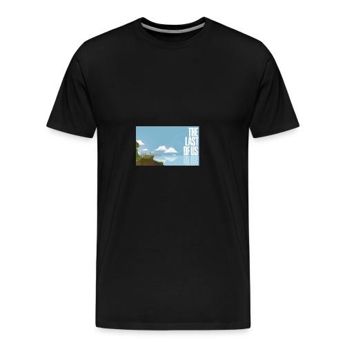 The Last of Us 8-bit - Men's Premium T-Shirt